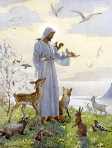 christ-with-animals