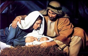 kids Bible story of Jesus born in Bethlehem