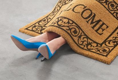 Person-under-doormat