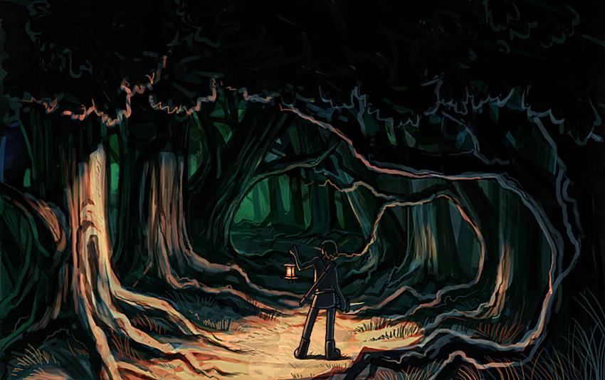 lantern_forest_by_retrolex
